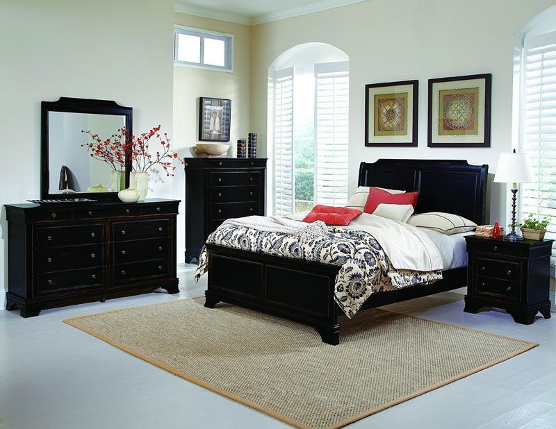 Homelegance 2223 9 Derby Run Collection Color Black Sand Through