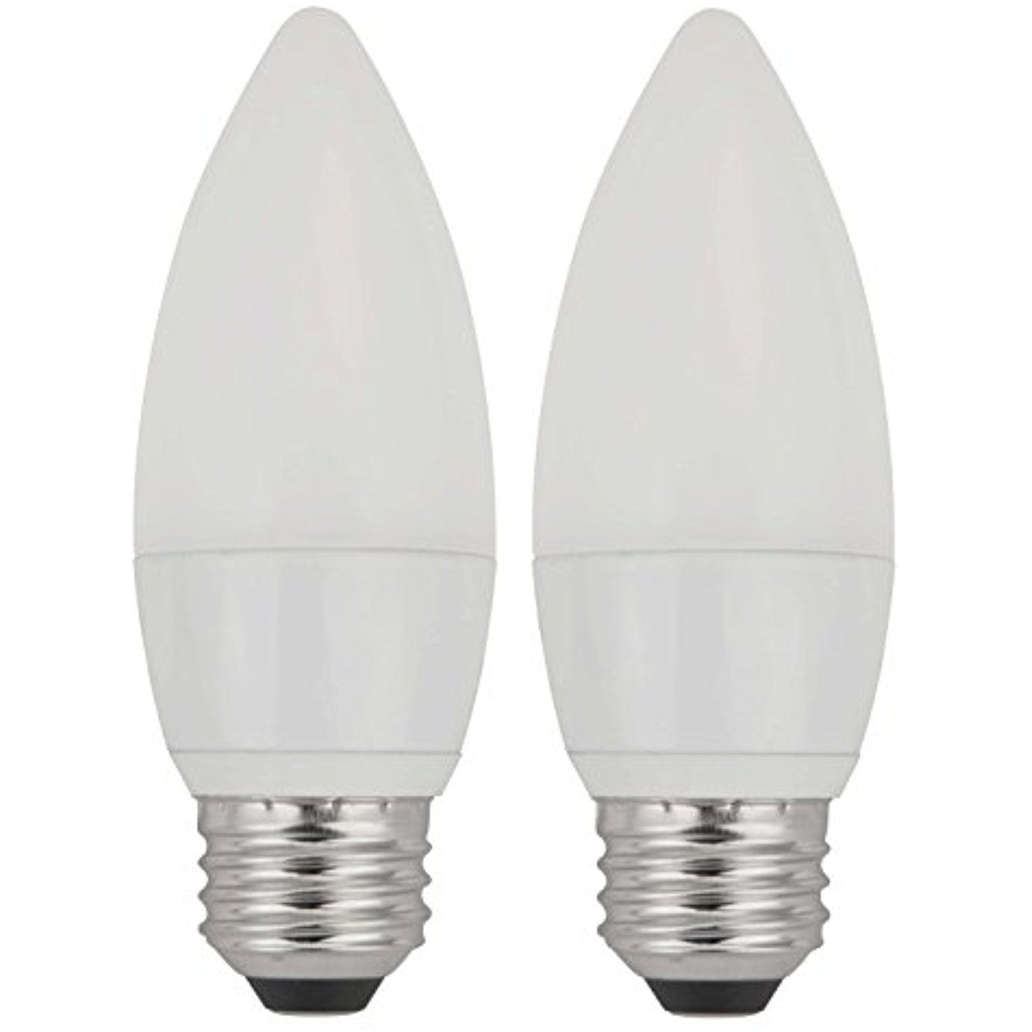 Tcp 40w Equivalent Led Frosted Torpedo Deco Light Bulbs