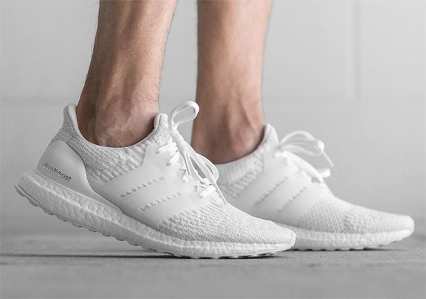 """ca279622ac4ce  sneakers  news adidas Ultra Boost """"Triple White"""" Releasing At Foot Locker"""