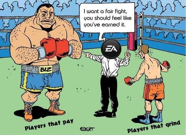 About the only thing EA does right is set it up for great ...