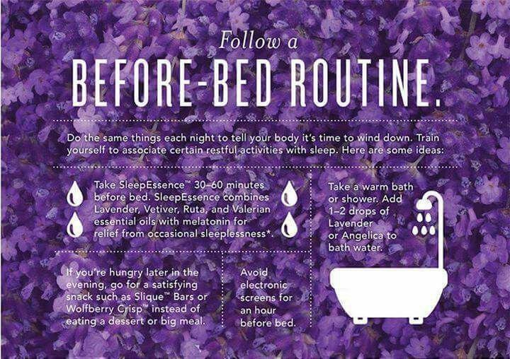 Before bed routine