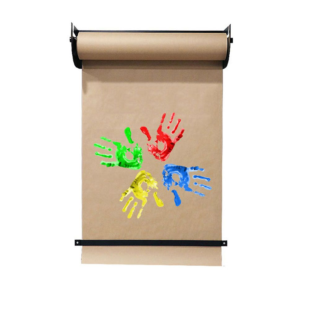 Wall Mounted Kraft Paper Holder Including Paper Roll Takeaway Menu Paper Roll Holders Butcher Paper Roll Holder