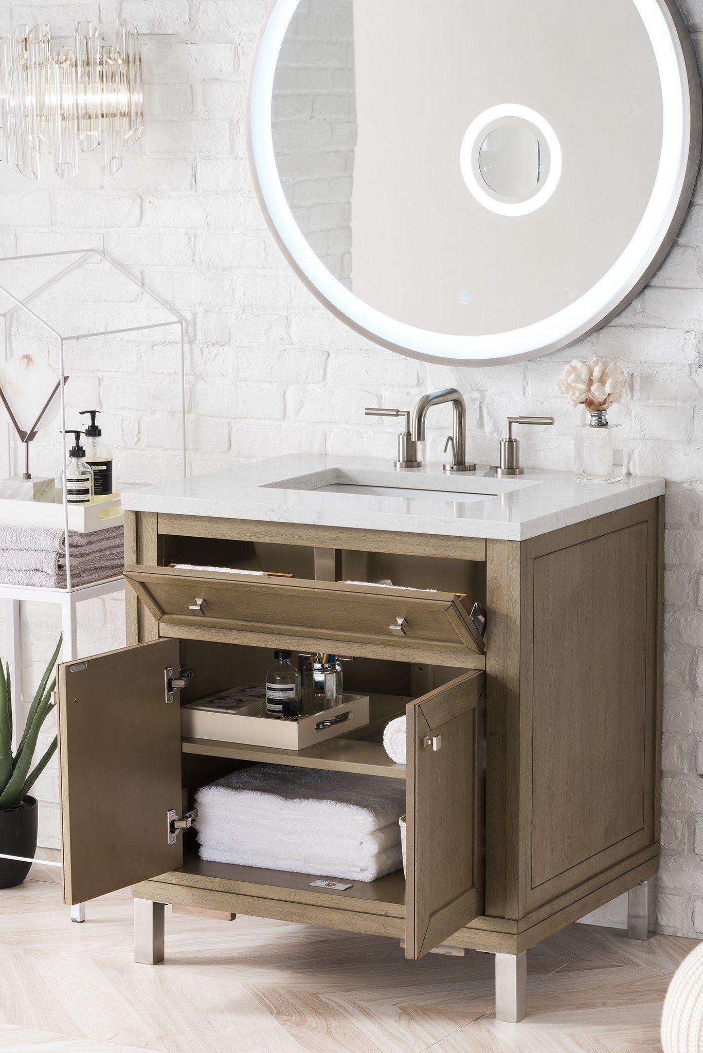 Chicago 30 Single Bathroom Vanity Bathroom Rustic Bathroom