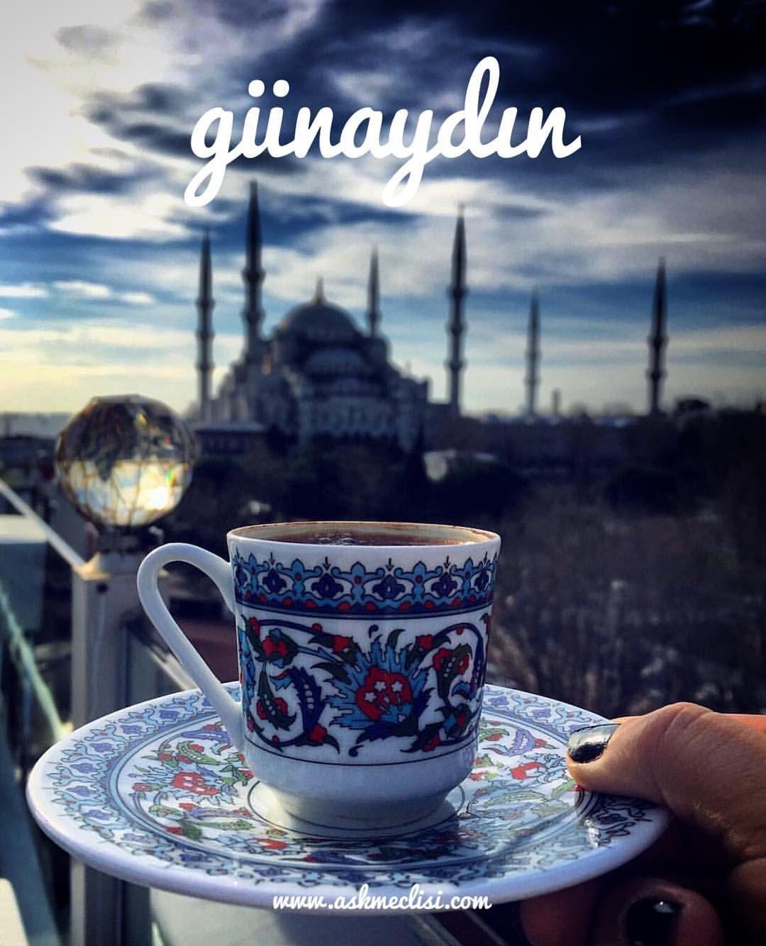 Открытка доброе утро любимый на турецком языке