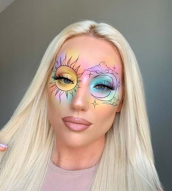 63 Cute Makeup Ideas for Halloween 2020 | Page 6 of 6 | StayGlam