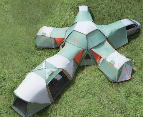 Decagon Modular Tent Tents Camping And Outdoor Life