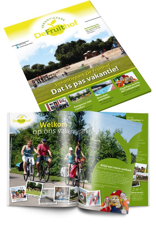 Vakantiepark De Fruithof magazine