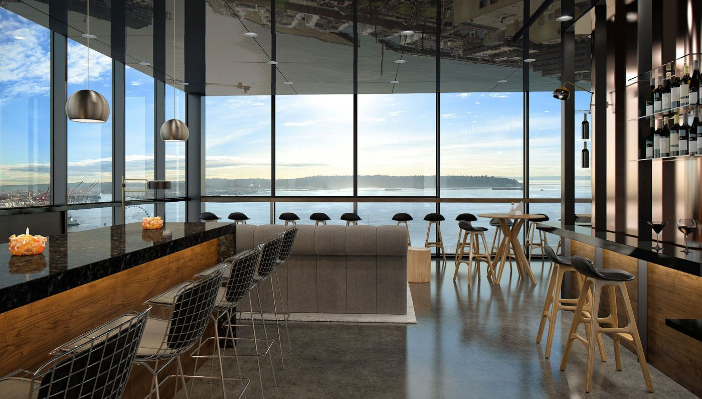 A Beautiful Rooftop Bar Crowns Seattle S Newest City
