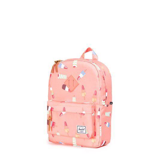 392dd0c9bf8 Herschel Supply Co. Heritage - Rugzak - Kinderen - Popsicle Pink / DTM  Rubber