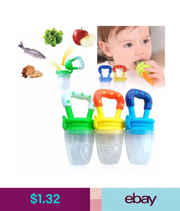 Silicone 1pcs Safety Food Pacifier Dummy New Teether Nipple Bite Feeder Newborn