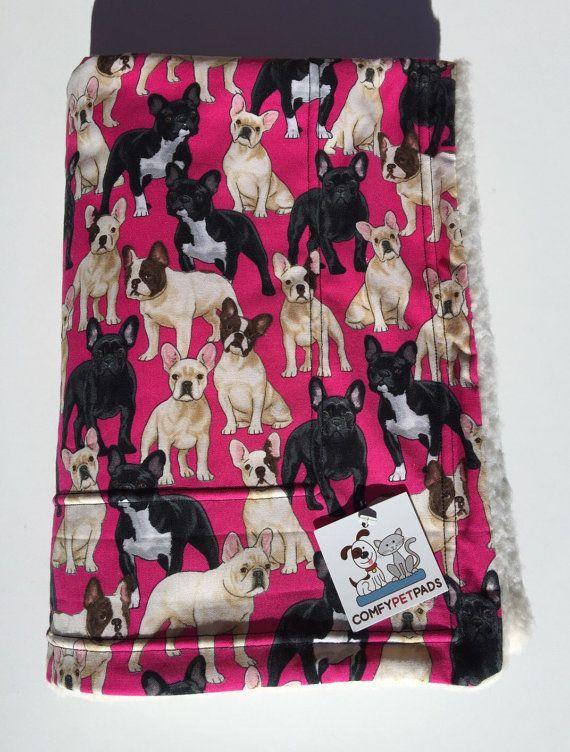 French Bulldog Blanket Dog Blanket Made In Colorado Puppy Bedding