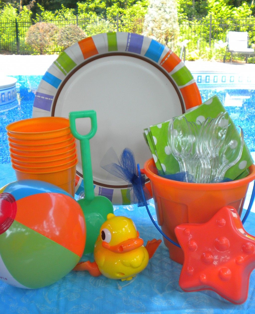 Host The Best Kids Beach Party