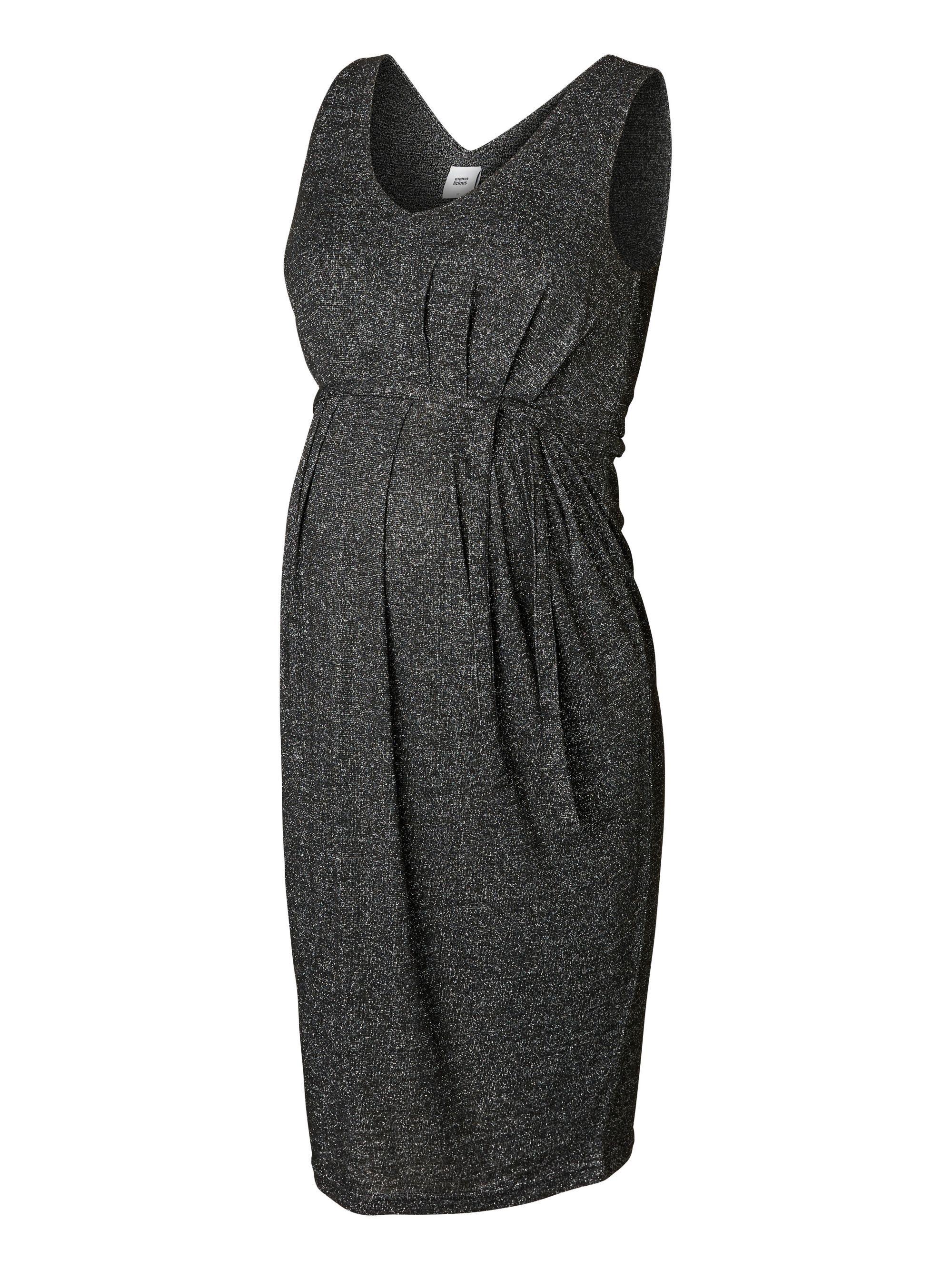 e9a1e79a72e62 Mamalicious Black Sparkle Dress | Baby / Maternity | Black sparkle ...