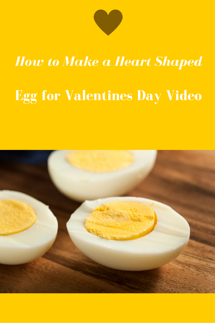 "Wanna make this Valentines Day a bit more fun and nutritious for all? Check out this video "" How to Make a Heart Shaped Egg for Valentines Day""."