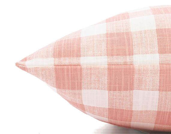 Blush Pink Gingham Check Dog Bed Cover Plaid Girl Pet Bed Etsy Covered Dog Bed Dog Bed Dog Bed Duvet