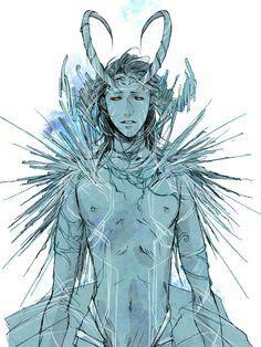Jotun!Loki fanart | Avengers | Loki, Loki jotun, Loki thor