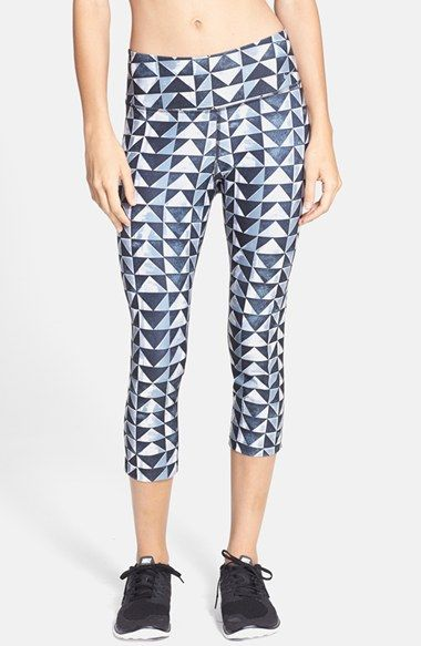 Nike 'Legend' Print Dri-FIT Capris available at #Nordstrom