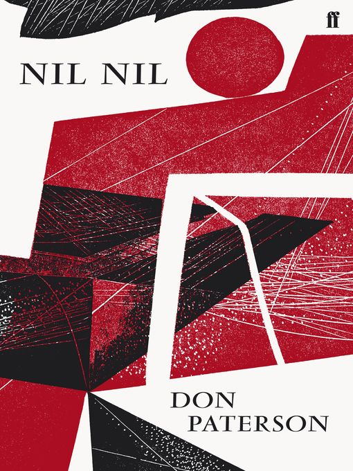 Nil Nil - Don Patterson book cover design Faber  & Faber illustration by Charles Shearer