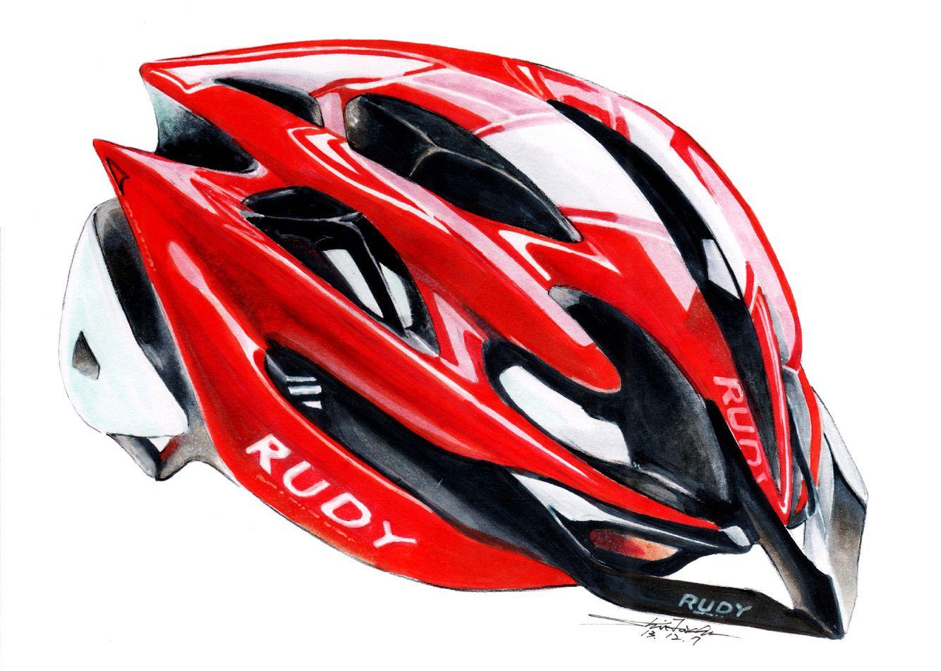 Bicycle Helmets Drawing Helmet Drawing Design Sketch Drawing