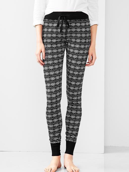 Fair isle sweater leggings | Womens Fashion Designs | Pinterest ...