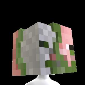Zombie Pigman Head Pigman Zombie Zombie Head