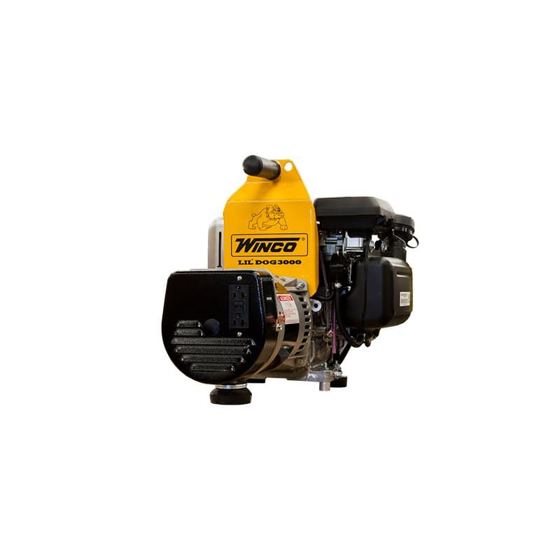 Winco W3000H 2400 Watt 120V Portable Generator with Honda GC ...