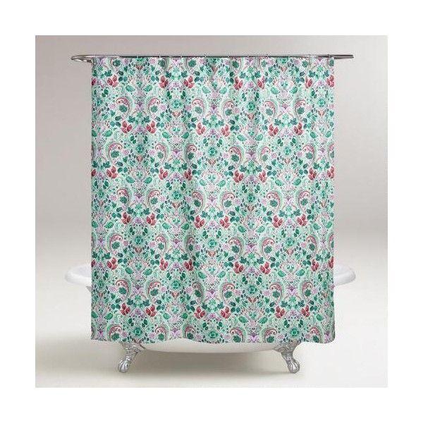 Cost Plus World Market Jennifer Shower Curtain 30 Liked On