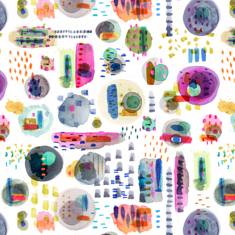 Petri-fied fabric by nadiahassan on Spoonflower - custom fabric