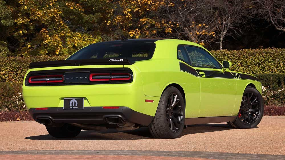 Old-School Muscle Car-premiere of the Dodge Challenger T / A ...