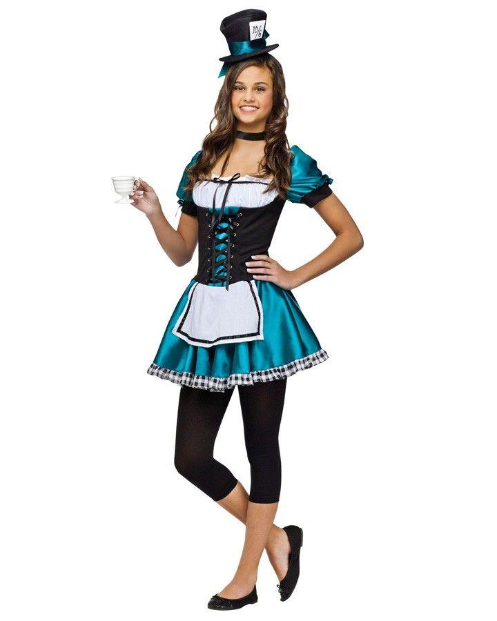 Superb Alice In Wonderland Mad Hatter Teen Girls Costume. #bookweek #costume