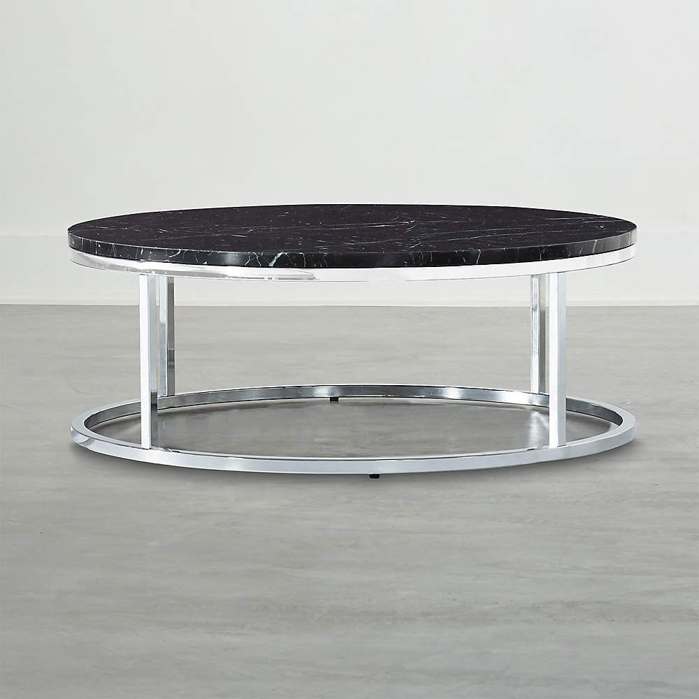 Smart Round Marble Top Coffee Table Reviews Cb2 In 2021 Marble Top Coffee Table Coffee Table Leather Coffee Table [ 1000 x 1000 Pixel ]