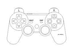 Afbeeldingsresultaat Voor Silhouette Playstation Controller Party Themes For Boys Game Controller Playstation Controller