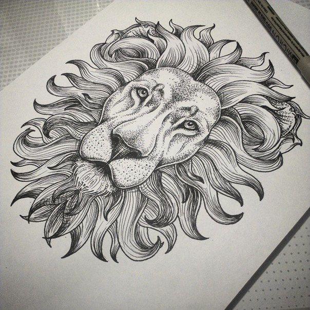 Pione Flower Tattoo Design