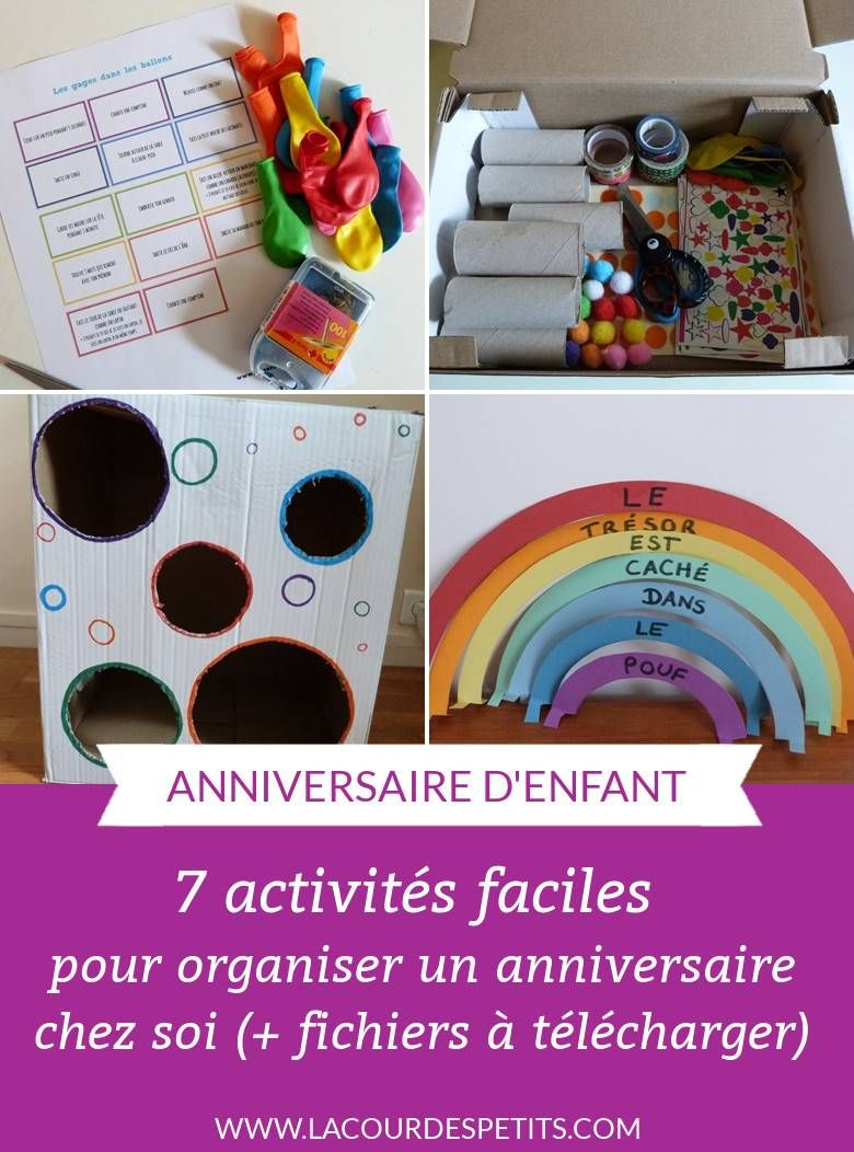Un anniversaire tout en couleur pour ses 6 ans