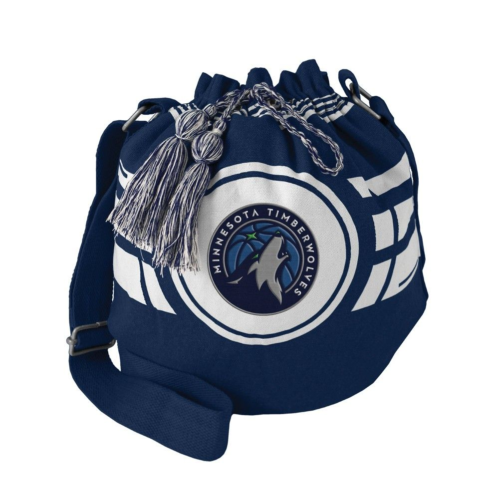 Nba Minnesota Timberwolves Ripple Drawstring Bucket Bag In 2019