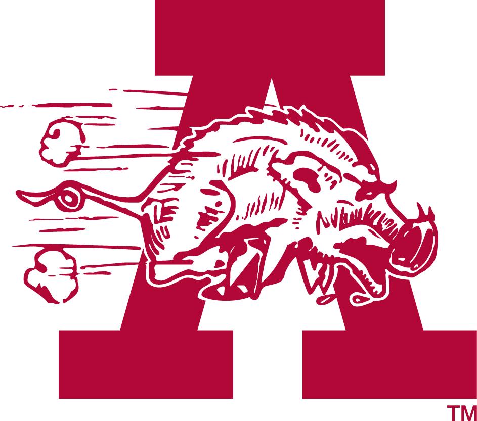 Arkansas Razorbacks Secondary Logo Arkansas Razorbacks Razorbacks Arkansas