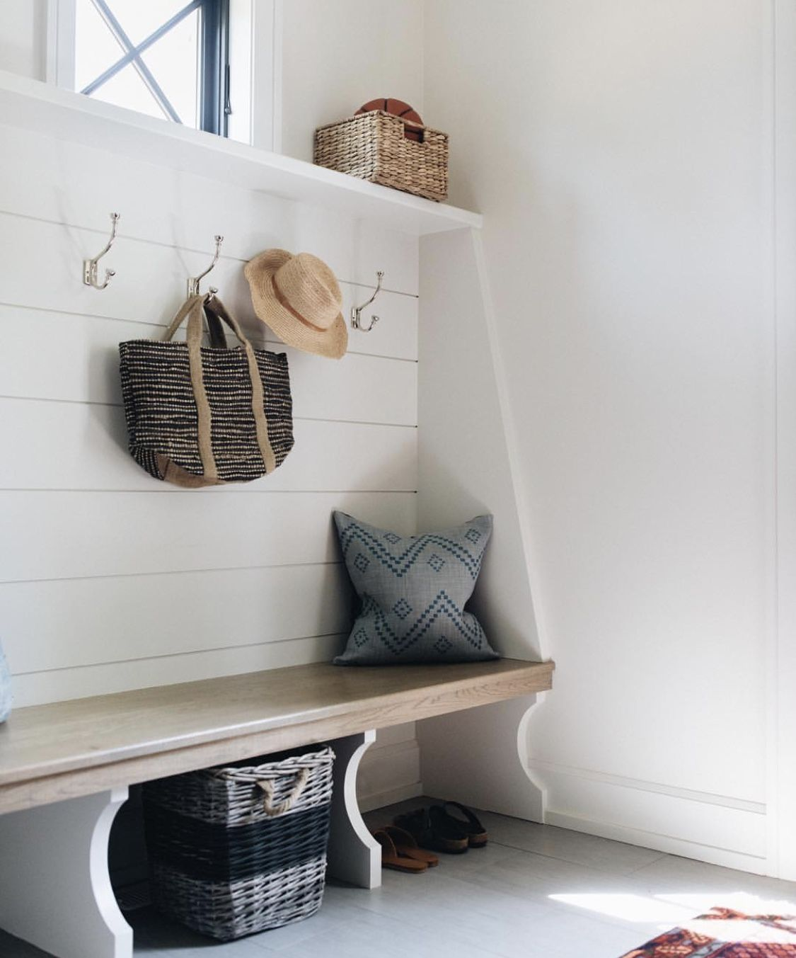 Locker style Mudroom, Fine home building, Kitchen interior