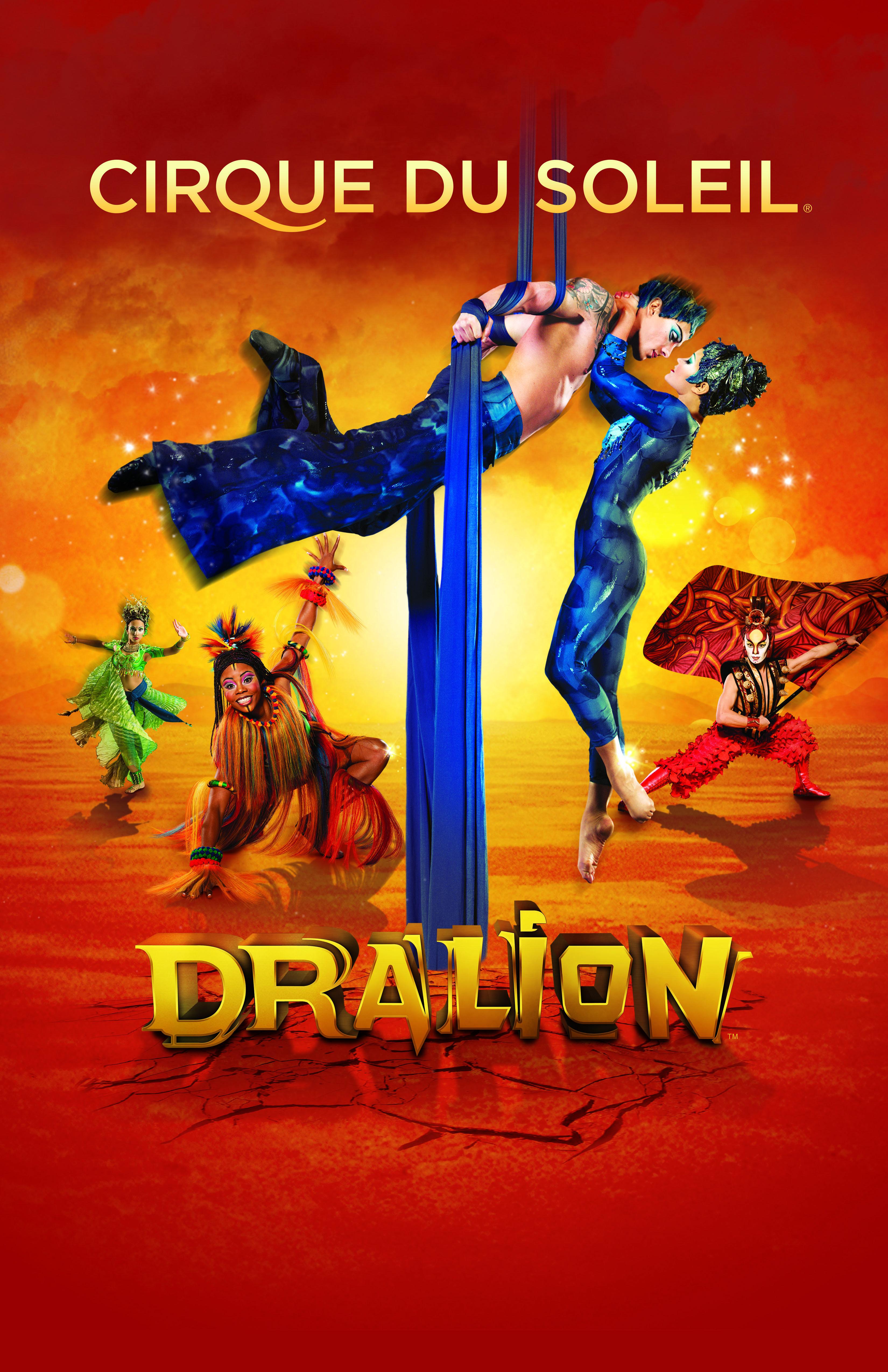 Amazing acrobatics from the Worldfamous Cirque du Soleil