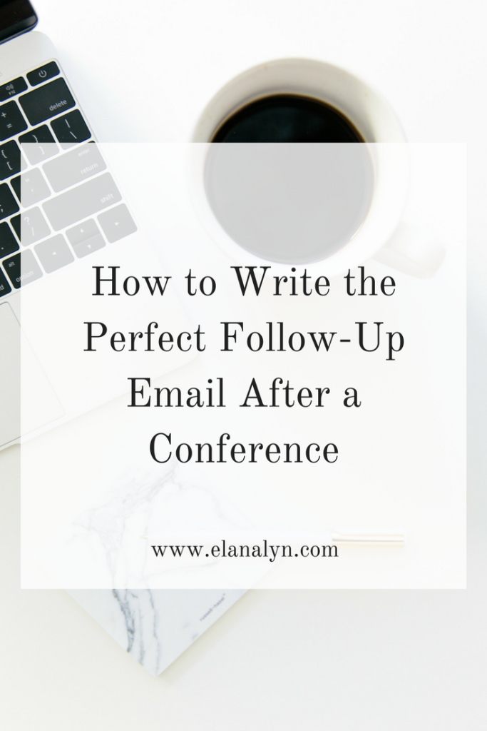 Follow Up Email After Job Offer How To Write The Perfect Followup Email After A Conference  Career .