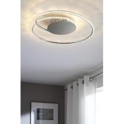 Photo of Xxxlutz LED ceiling light, silver, metal, 13 cm xxxlutz