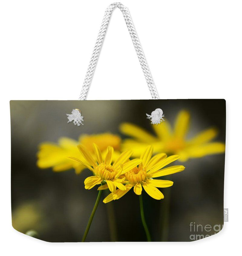 Flower Weekender Tote Bag featuring the photograph An Organic Connection by Jorgo Photography - Wall Art Gallery