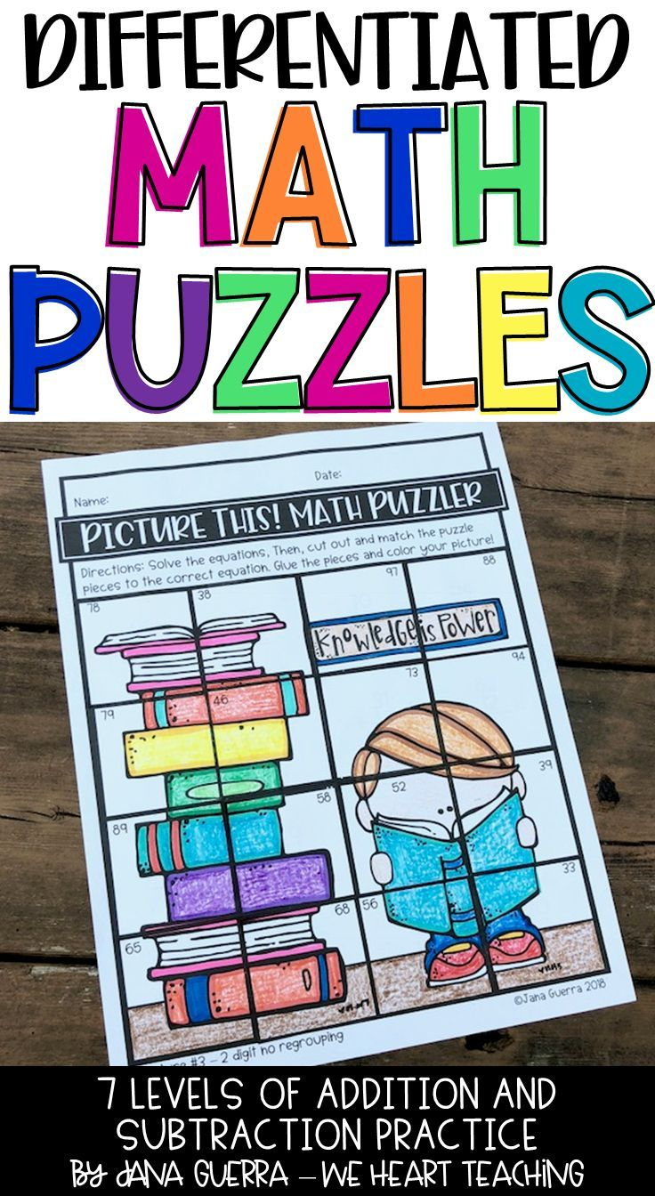 Math puzzles for seventh graders dating