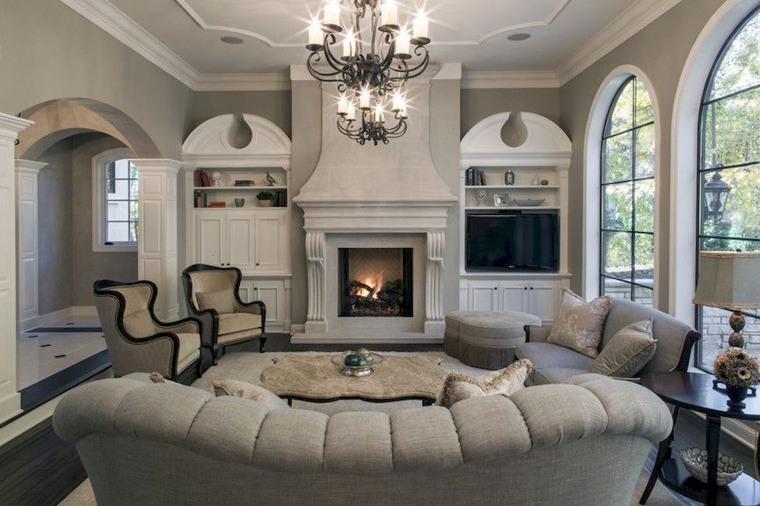 Photo of 75 Beautiful French Country Living Room Decor Ideas – Wholehomekover