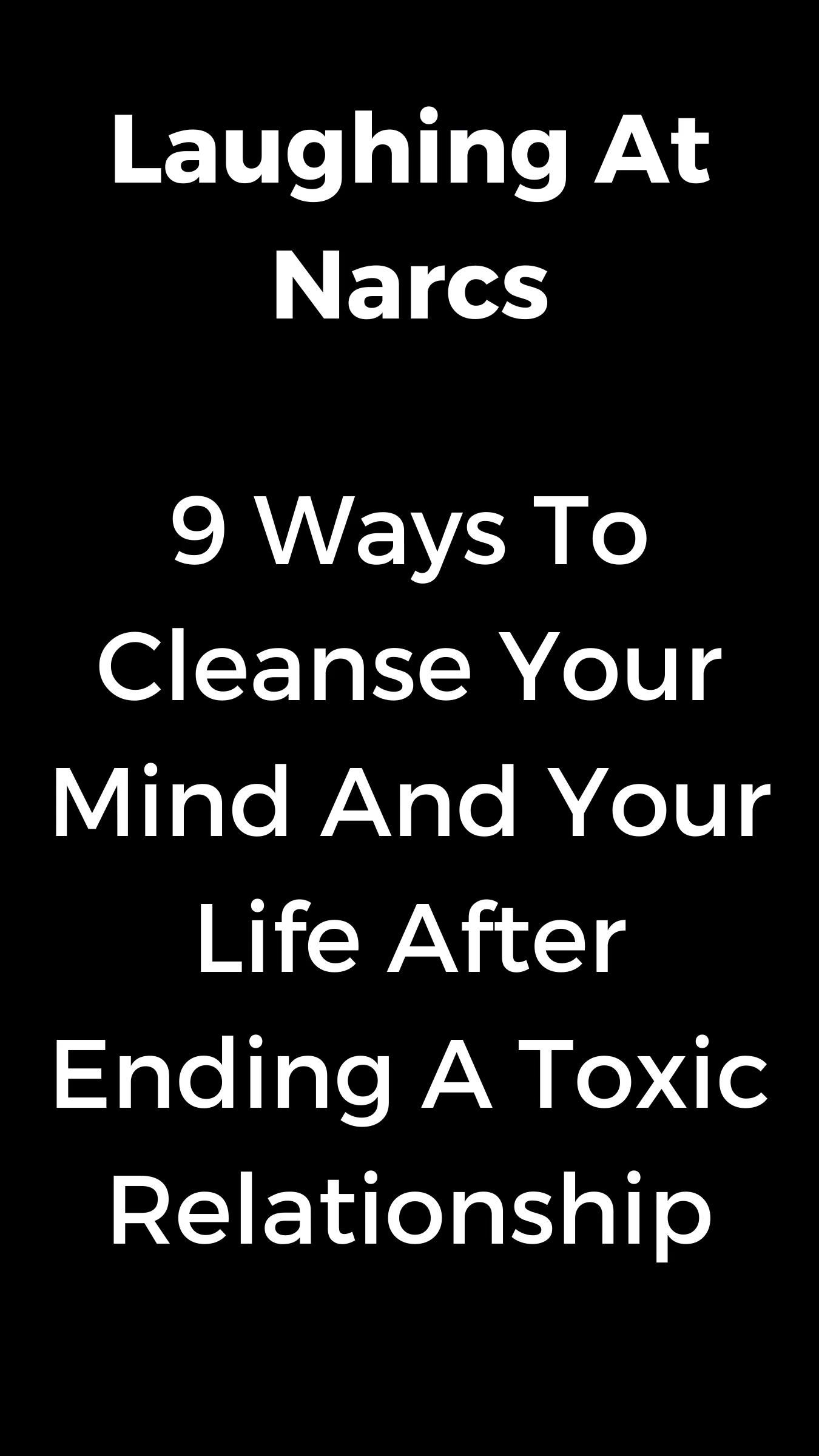 Ways To Cleanse Your Spirit After Leaving A Toxic Relationship