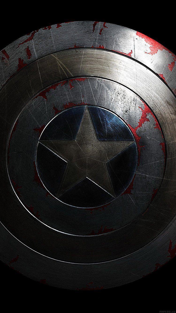 Captain America Shield Wallpaper Papel De Parede Do Capitao