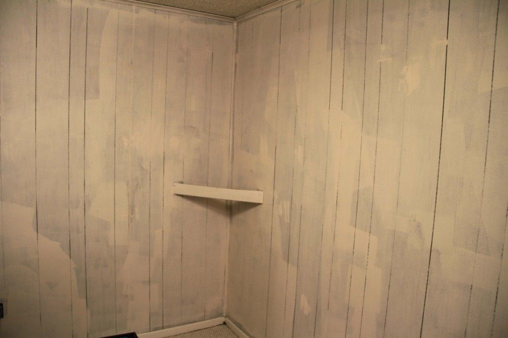 Painting Fake Wood Paneling Great Instructions And Pics