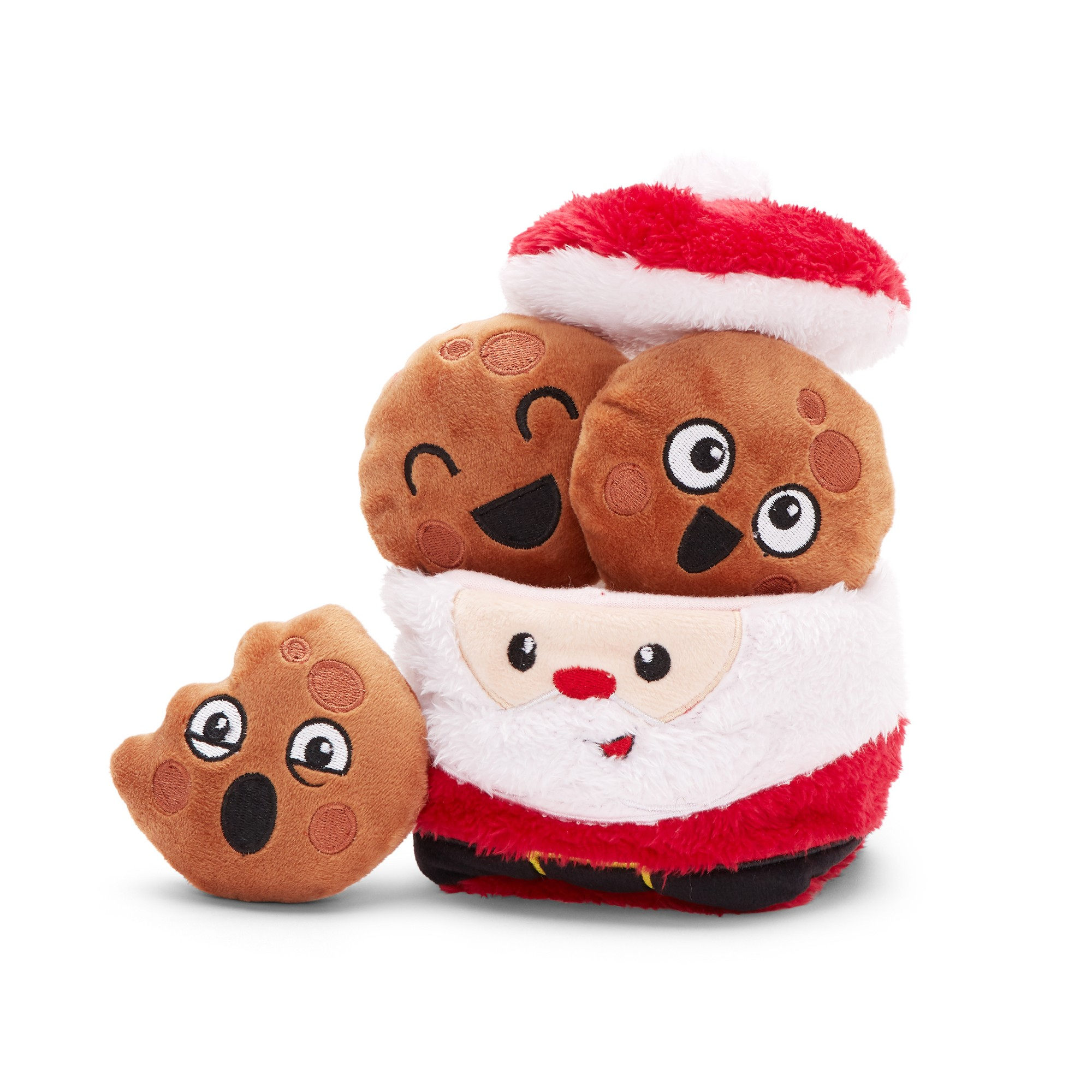Bark Santa S Jolly Cookies Dog Toy Christmas Cookie Jars Dog