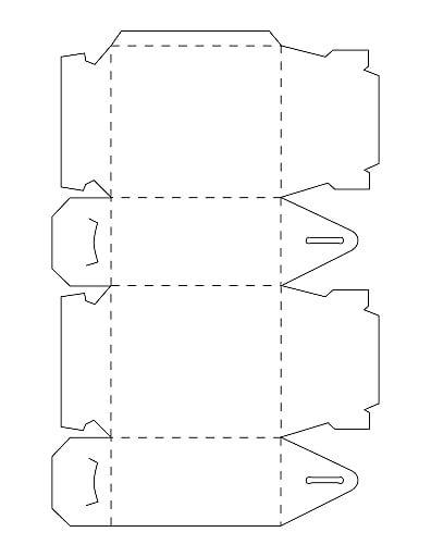 Gable 20box Pdf Onedrive Molde Caixa Molde Caixa Bala