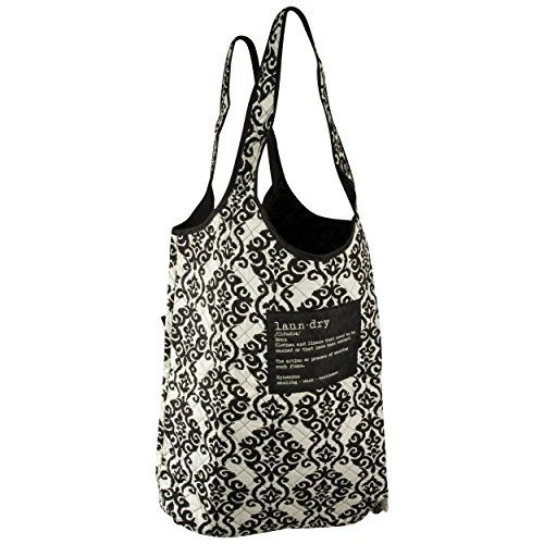 Quilted Oversized Laundry Tote Black Raymond Waites Http Www Amazon Com Dp B00yq2pa7g Ref Cm Sw R Pi Dp H