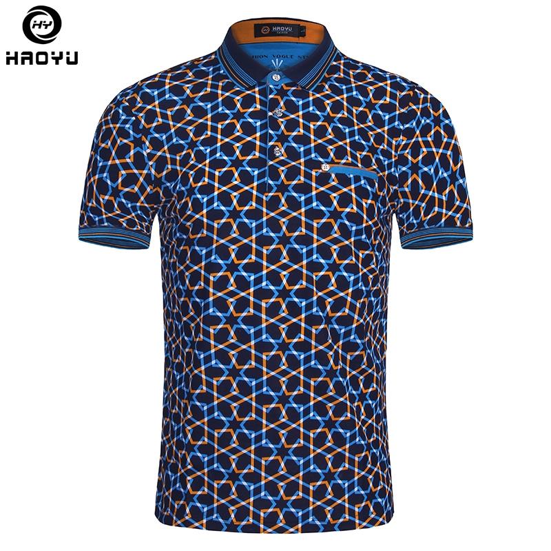 15.66$  Watch more here - 2016 Summer Fashion Mens Polo Shirt Short Sleeve Geometric Pattern Slim Shirt For Men Polo Shirts Camisa Polo Masculina Big Size   #shopstyle